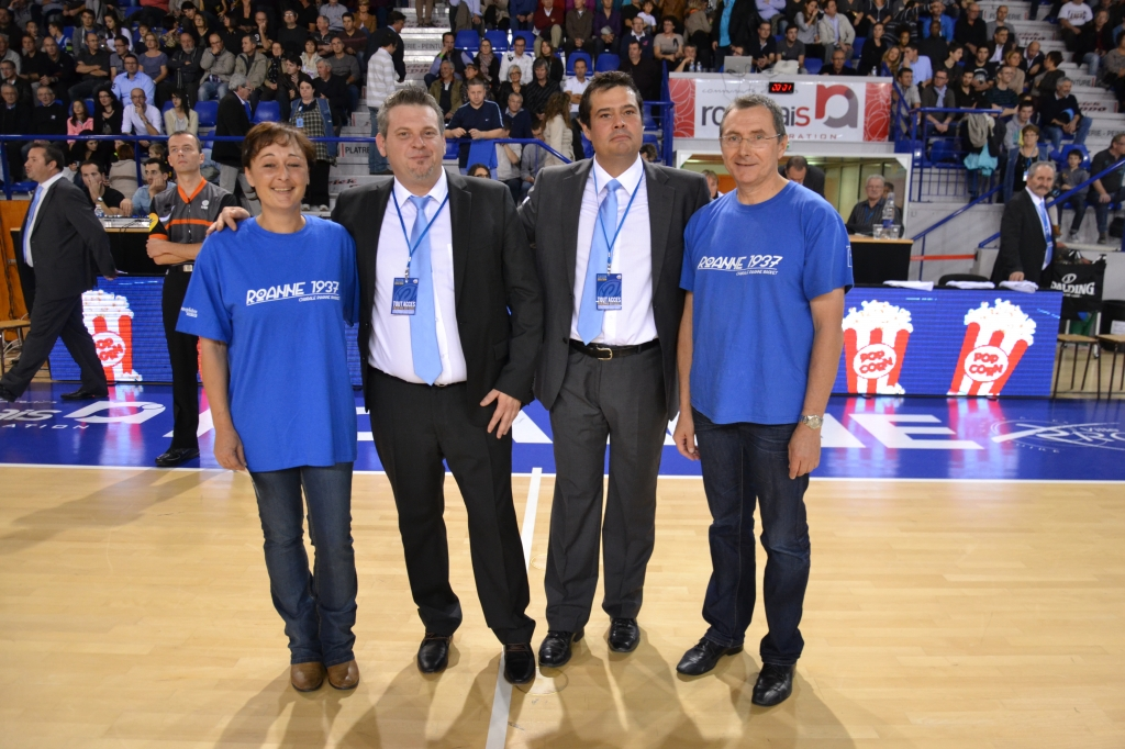 Supporters chorale basket roanne