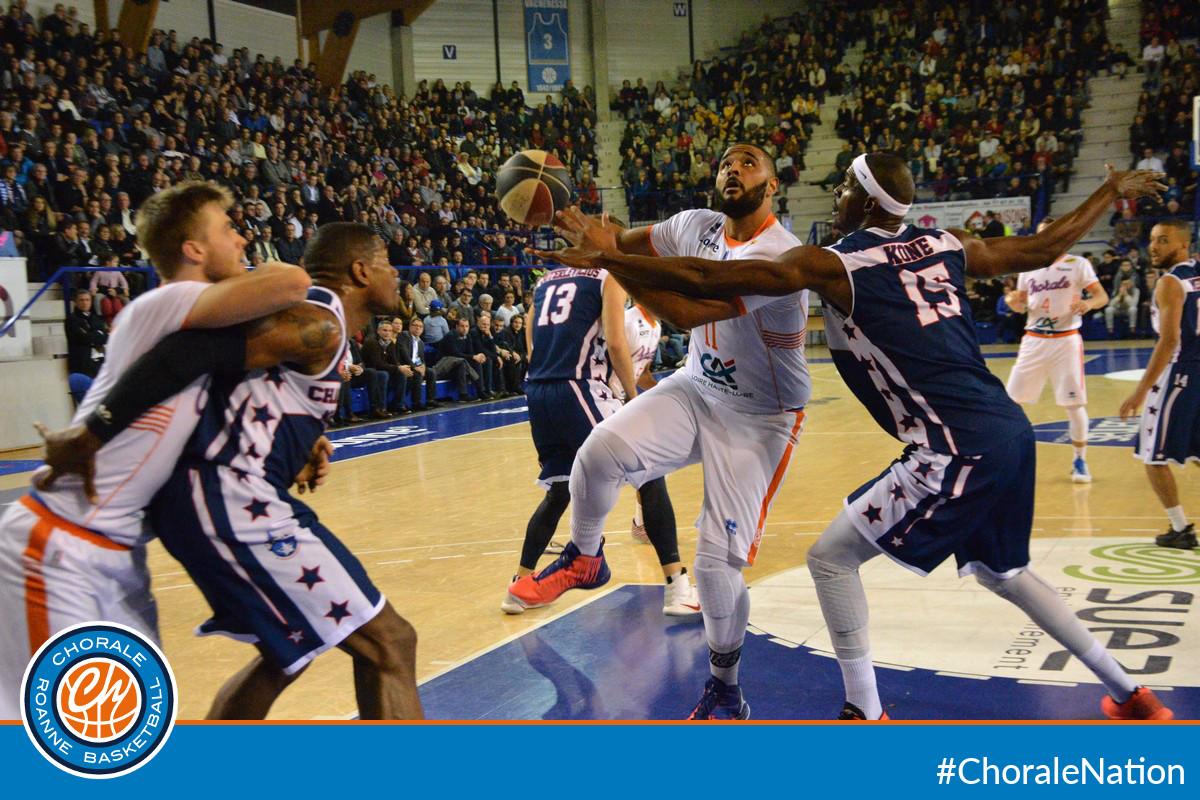 Chorale Basket Roanne – ProB J11 Chorale – Charleville 74-76