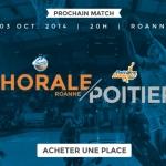 match chorale poitiers pro b